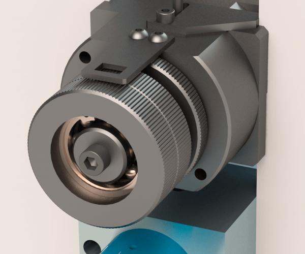 Axial adjustment knob TECNOCUT