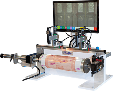 plate mounting machine by Tecnocut